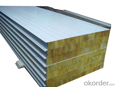 Fireproof Color Steel Glass Wool Sandwich Panel