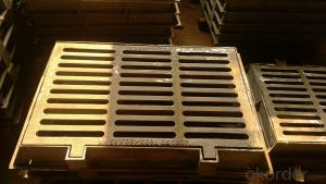 Ductile Iron Manhole Cover ΕΝ124 Made In China C250