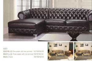 CNBM bounded leather chesterfield sofa CMAX-02