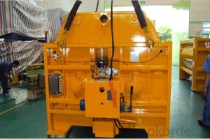 Concrete Machinery  SICOMA Twin Shaft Concrete Mixer
