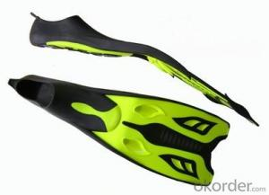 High performance low friction diving fins
