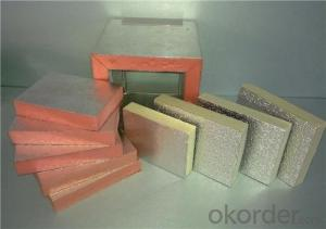 large roof wall color steel composite and modified phenolic fireproofing