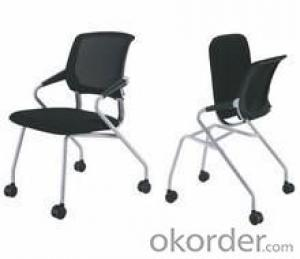 Stacking Training Meeting Chairs Mesh PU Office Chairs W01