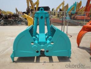 Excavator Clamshell Bucket excavator parts