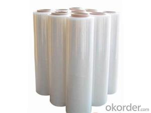 PE white film with aluminium foil application