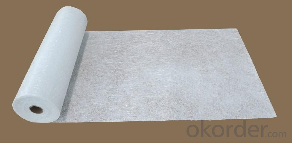 E-glass CHopped Strand Mat Made Of Fiberglass(Powder Bonded)