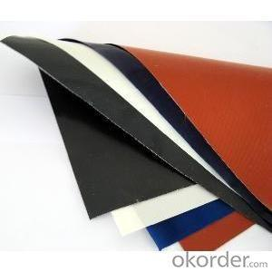 Fiberglass cloth Coated with Silicon Rubber