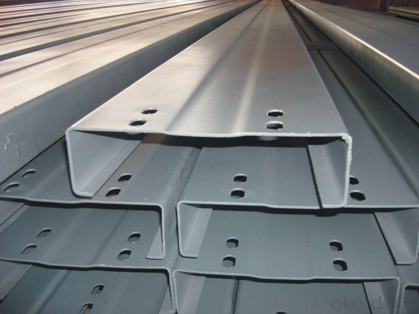 prefabricated steel structure building,C type steel bar