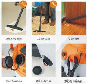 Wet and dry drum vacuum cleaner with inlet HEPA filter#YLW79-25L/35L