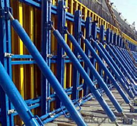 Tunnel formwork system and scaffolding system