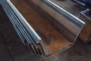 Steel Sheet Pile  with Good Quality    for      2015