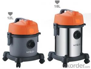 Wet and Dry Drum Vacuum Cleaner with Inlet Sponge or HEPA Filter