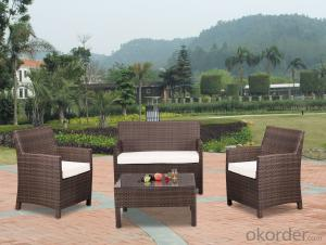 Garden Furniture Outdoor Sofa Patio with Wicker Rattan
