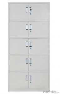 Office Furniture School Locker Double Door with Drawer