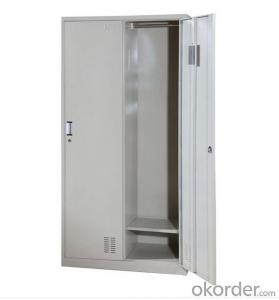 Office Furniture School Locker Glass Double Door Laboratory