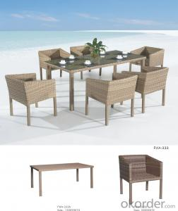 Rattan Garden Dining Outdoor Furniture Wicker  Chair Patio