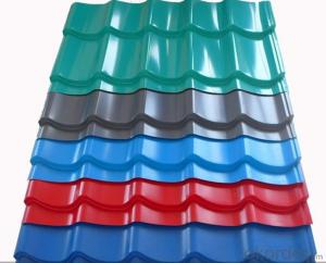 color steel tile price ,zinc aluminium coated roof tile,az50,g550