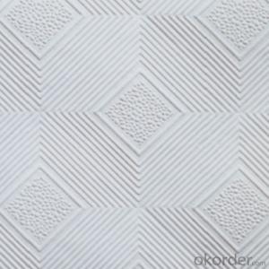 High Quality PVC Laminated Gypsum Ceiling Tile