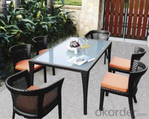 Dining Outdoor Chair  Rattan Garden Furniture  Patio Wicker