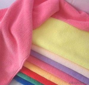 Microfiber cleaning towel with good design