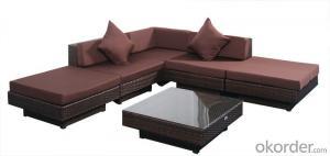 Garden Furniture Chair with  Rattan Outdoor Sofa Patio