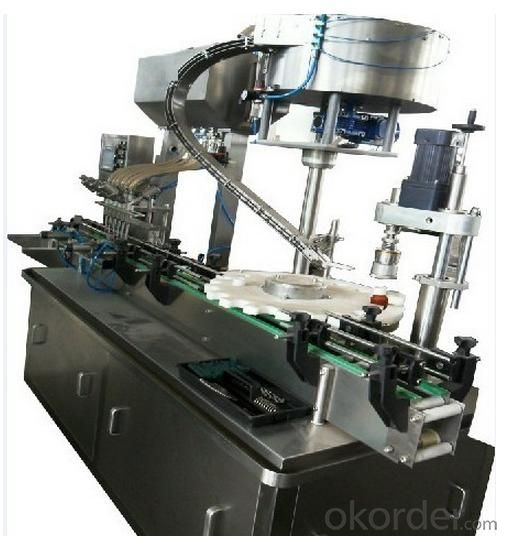 Liquid Filling,Plugging and Capping Machine