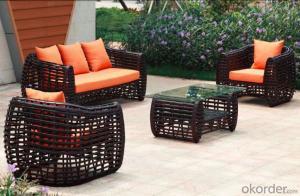 Professional Outdoor Rattan Garden Sofas  CMAX-MJT9011