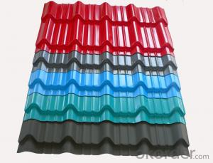 stone chips coated steel tile metal roofing price