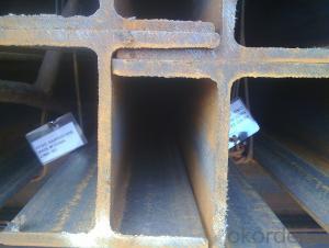 JIS Standard Hot Rolled Steel H Beams of Steel Grade SS400