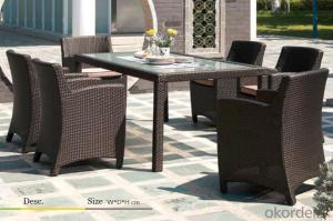 Outdoor Furniture Hand Rattan Garden Set  CMAX-MJT2107