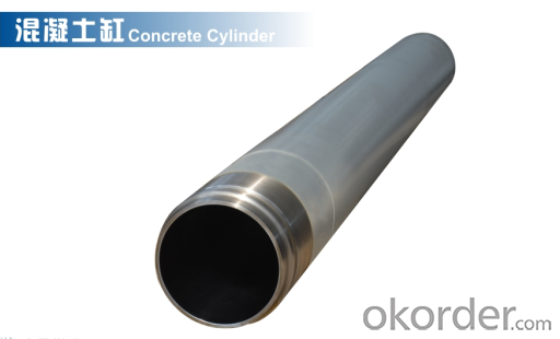 DELIVERY CYLINDER(SANY ) I.D.:DN180  CR. THICKNESS :0.25MM-0.3MM     LENGTH:1545MM