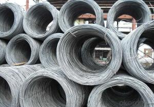 Low Carbon Steel Wire Rod with Alloy Element Added
