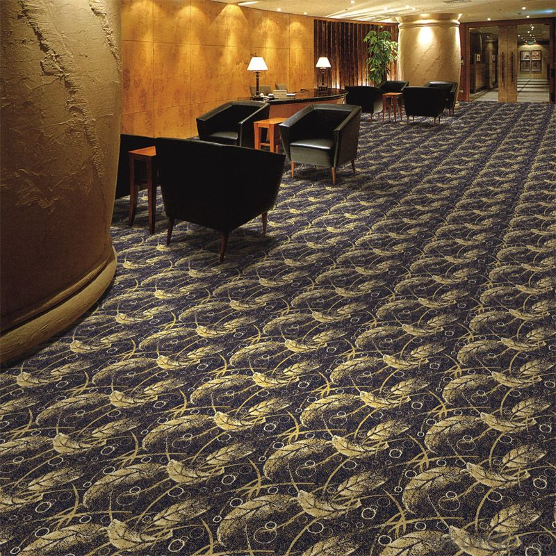 100% Nylon Printed Commercial Wall to Wall Carpet