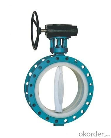 Ductile Iron wafer butterfly valves DN310