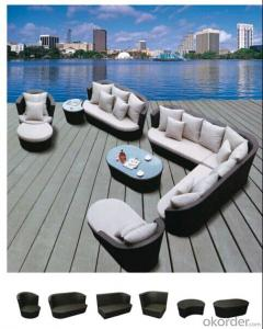 Popular Outdoor Garden Rattan/Sisal  Sofa set