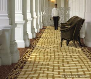 Printed Nylon Corridor Carpets for Luxury Hotel