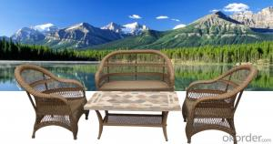Popular Modern lesisure Outdoor Garden Sets