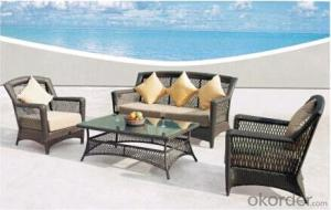 sectional rattan garden furniture outdoor sofa set made in China