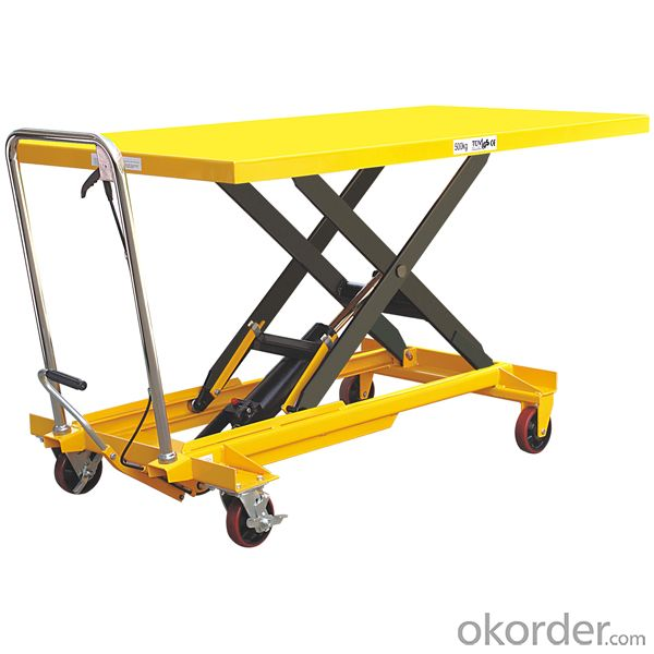 1 Ton High Lift Hydraulic Hand Pallet Truck