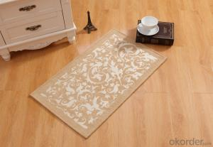 Chenille Polyester Jacquard Door Mat with Good Quality