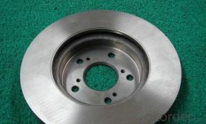 cast iron brake disc auto spare parts 45251-TA1-A00