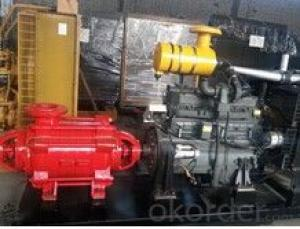 Horizontal Multi-impeller Multistage Centrifugal Gold Mining Water Pump