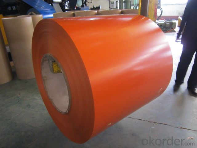 PRE-  PAINTED  ALUZINC  STEEL   IN  COIL
