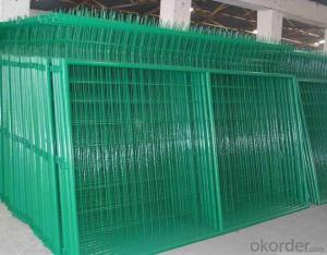 High Quality Low Cost plastic/vinyl/pvc Frame Fence