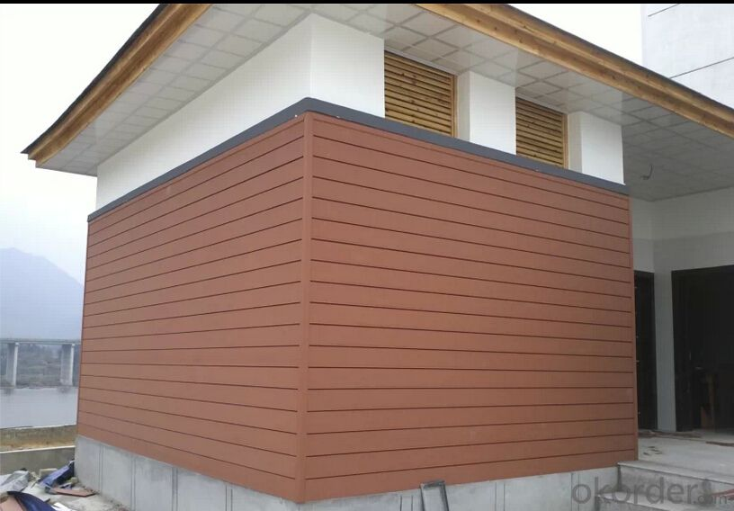 Wood Plastic Composite High Quality for Wall panel