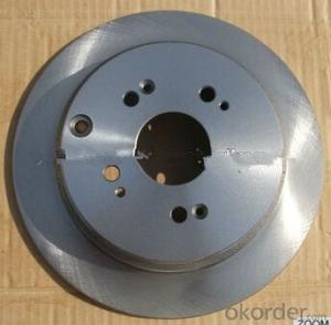 brake disc auto spare parts from china qingdao city factory