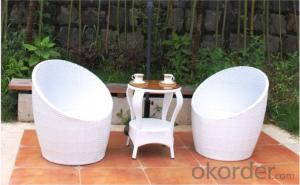 PE Wicker Sofa Sets for Outdoor activities