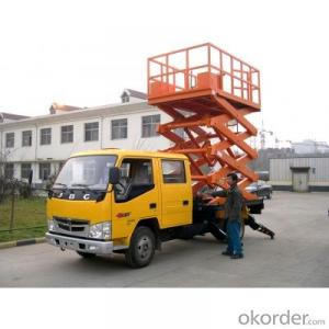 Truck Mounted Scissor Work Lift