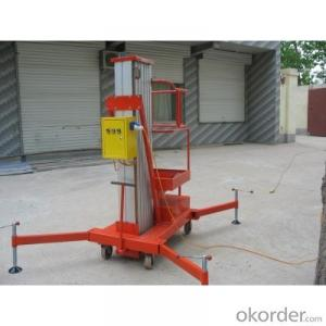 Single Mast Aluminium Lift Table