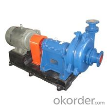 High Lift Low Flow Slurry Pumps with High Quality